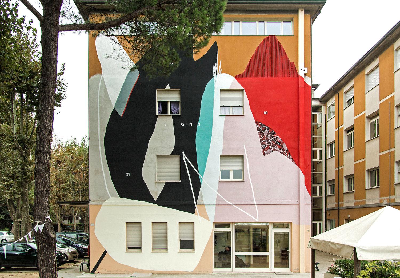"""""""Cerchio G25"""" per il progetto Cantiere Bellezza, Condominio Solidale, Cervia"""