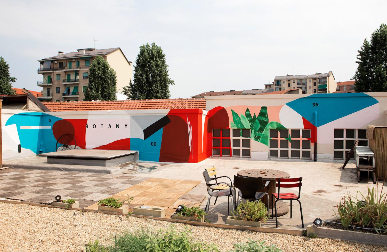 """""""Cerchio G36"""" sui tetti di Torino, per il progetto OrtiAlti"""