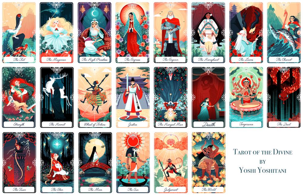 tarocchi astrologia yoshi yoshitani