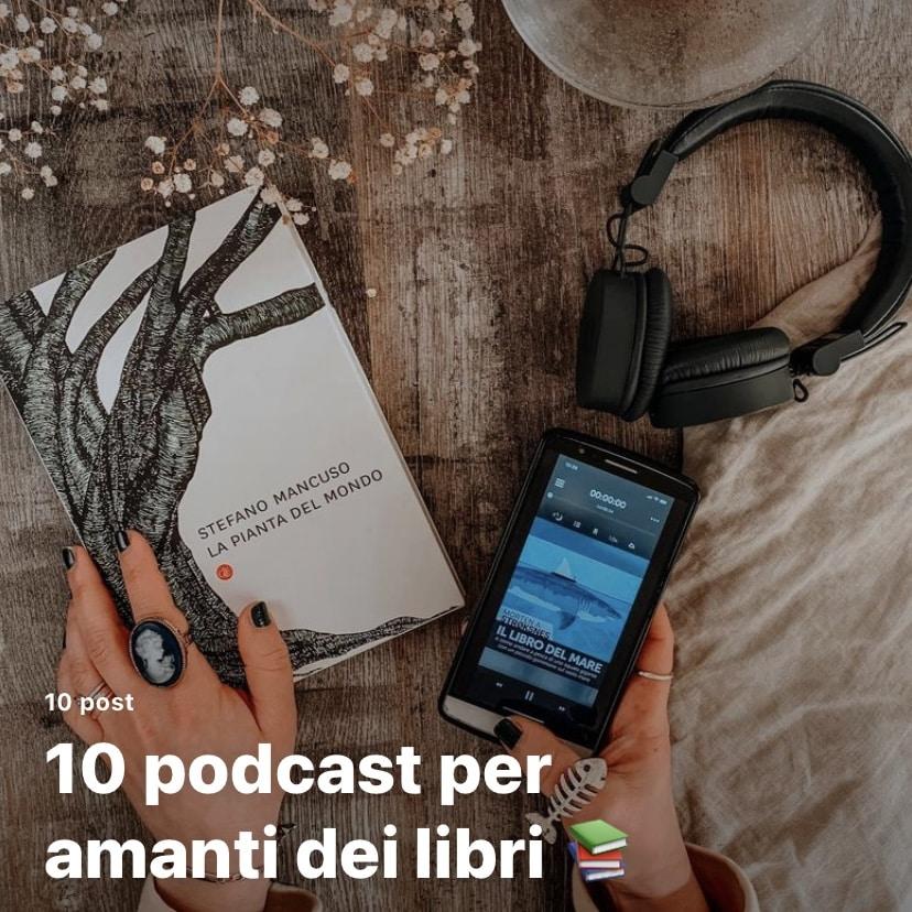 podcast libri guida instagram